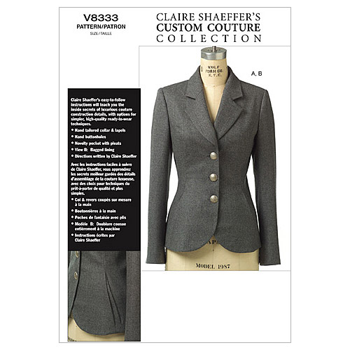 Vogue Patterns Misses Jacket-V8333