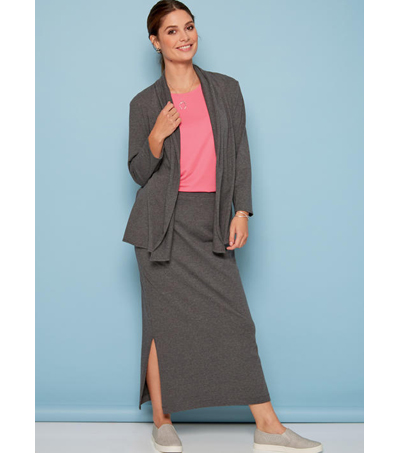 McCall\u0027s Pattern M7548 Misses\u0027 Jacket, Tops, Skirt & Pants-Size 8-16