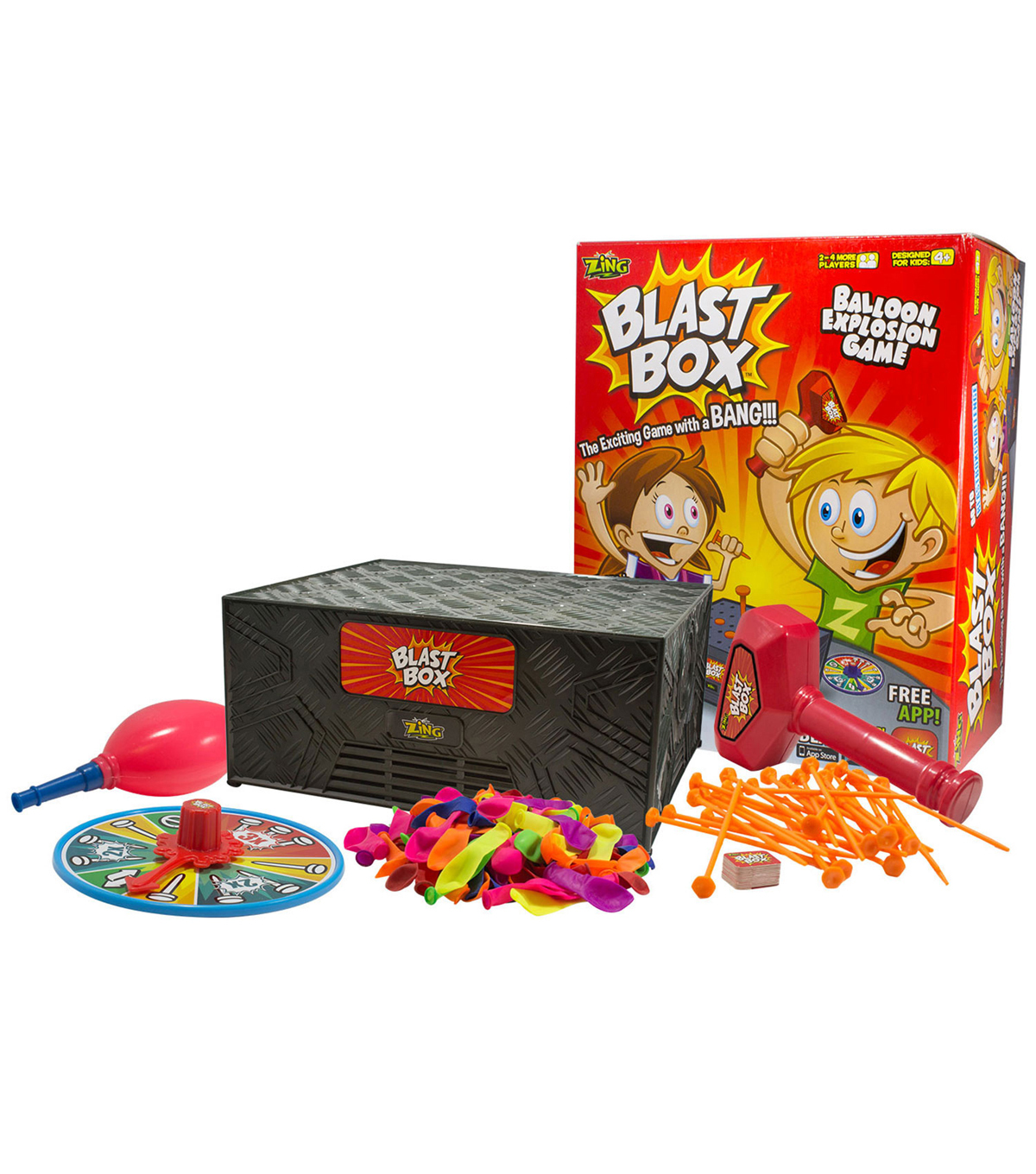 Zing Blast Box Game