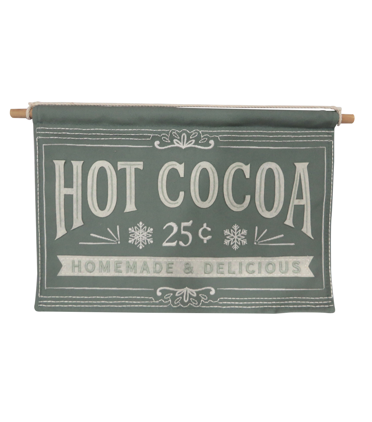 Maker\u0027s Holiday Christmas Farmhouse Banner-Hot Cocoa