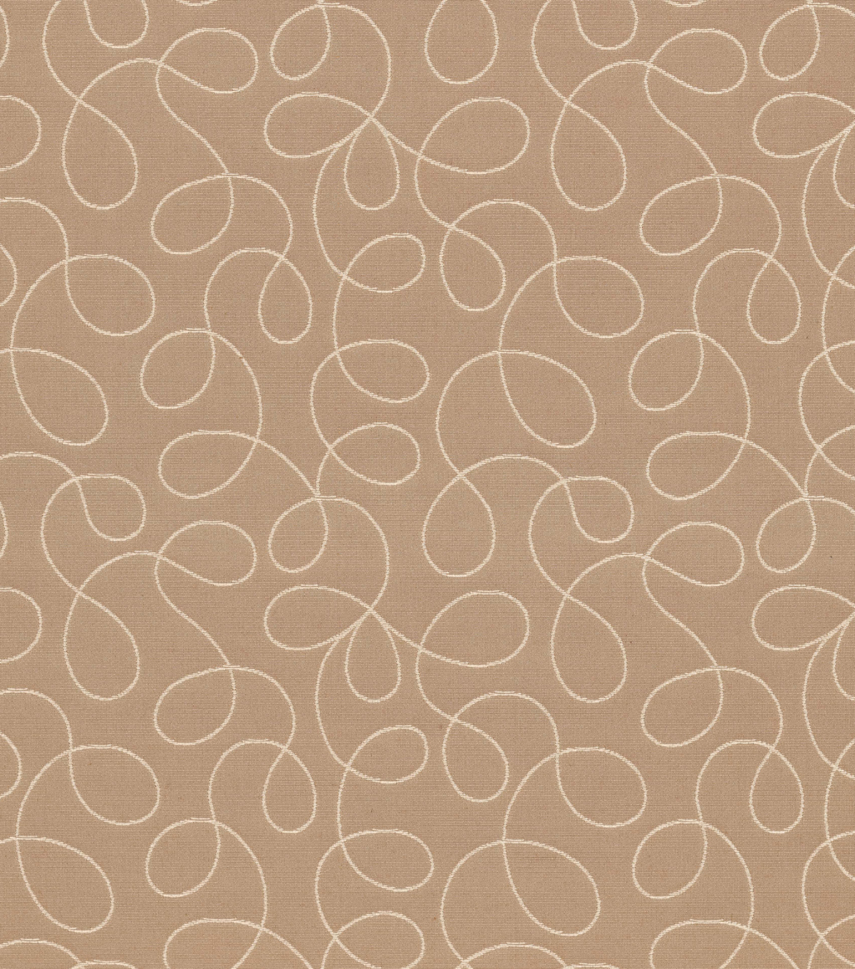 Home Decor 8\u0022x8\u0022 Fabric Swatch-Loopy Cream