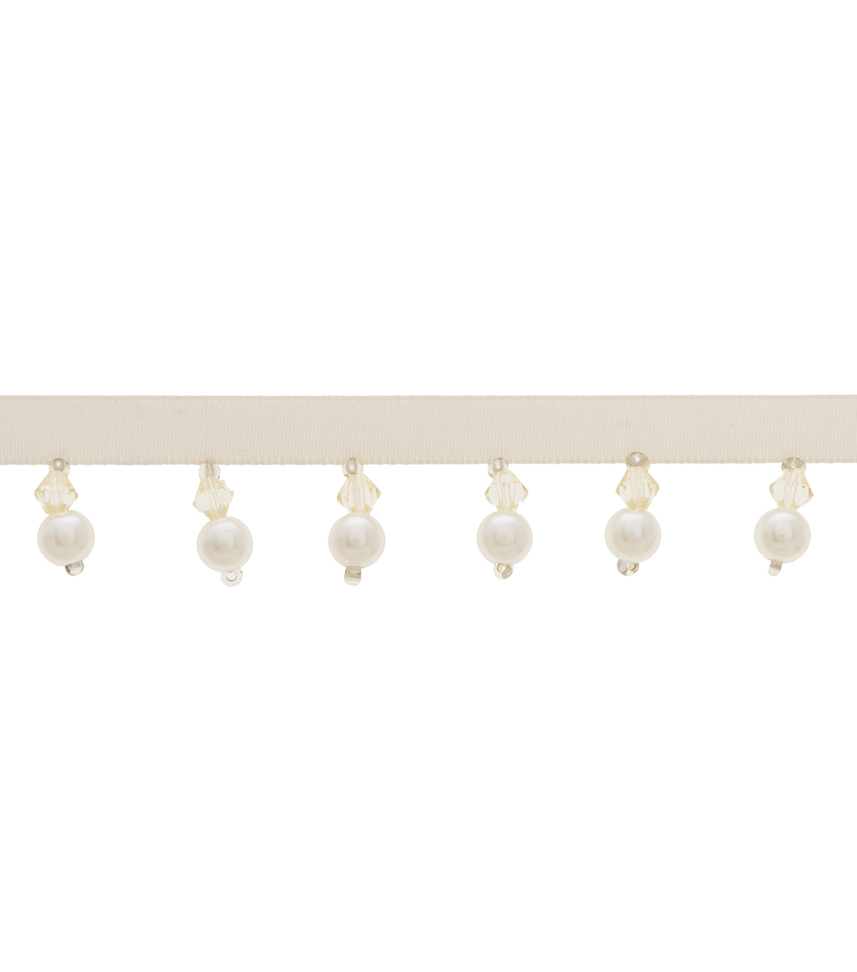 Simplicity Pearl Beaded Trim-Ivory