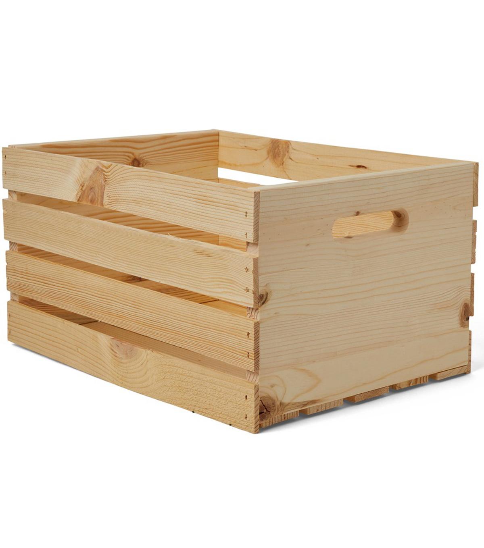 Woodline Works Wood Crate