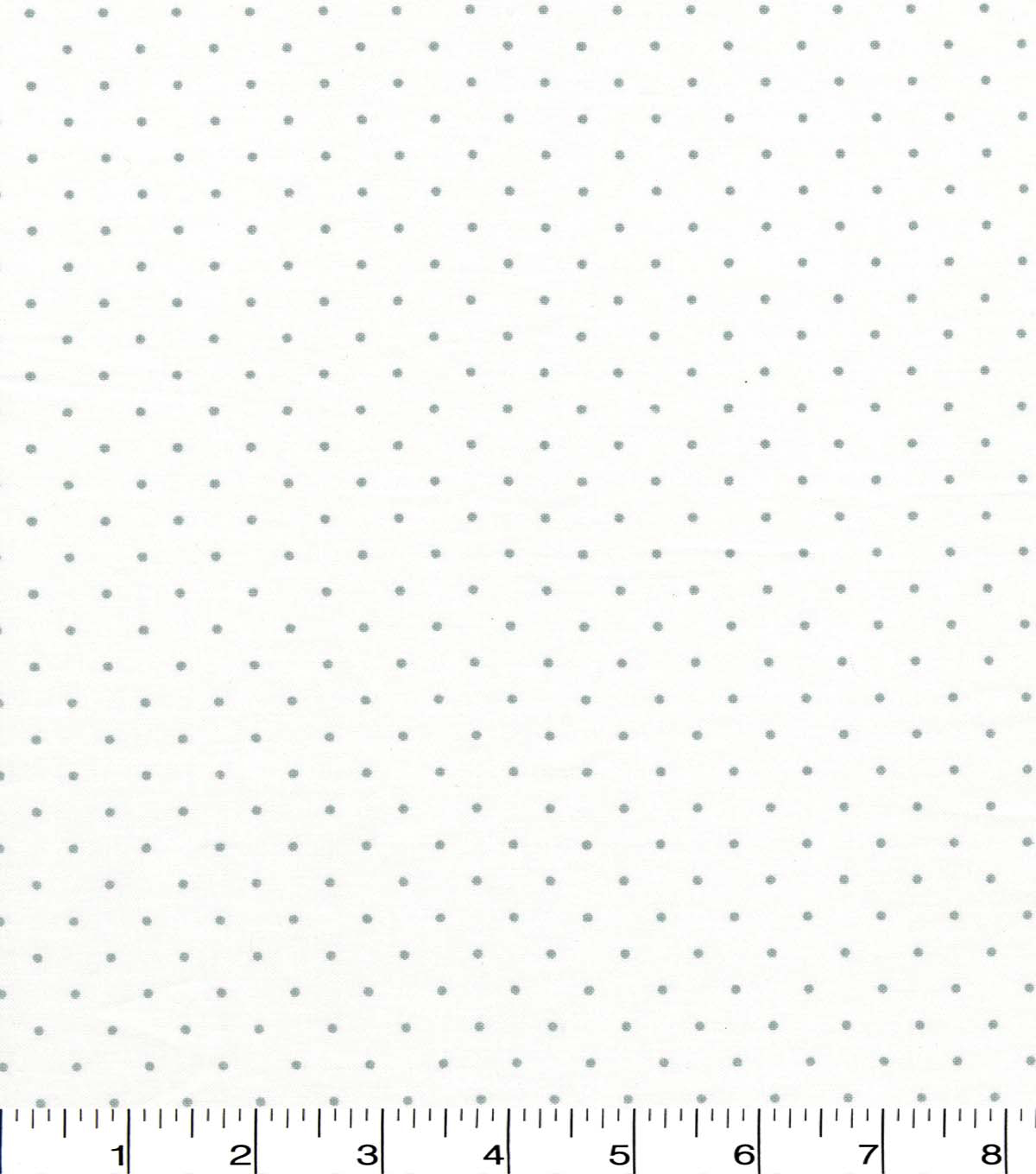 Quilter\u0027s Showcase Cotton Fabric -Light Gray Aspirin Dots