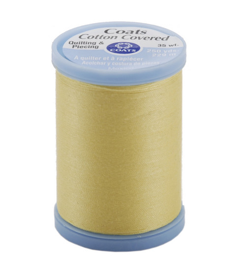 Coats & Clark Cotton Covered Quilting & Piecing Thread 250 Yards , 7330 Yellow