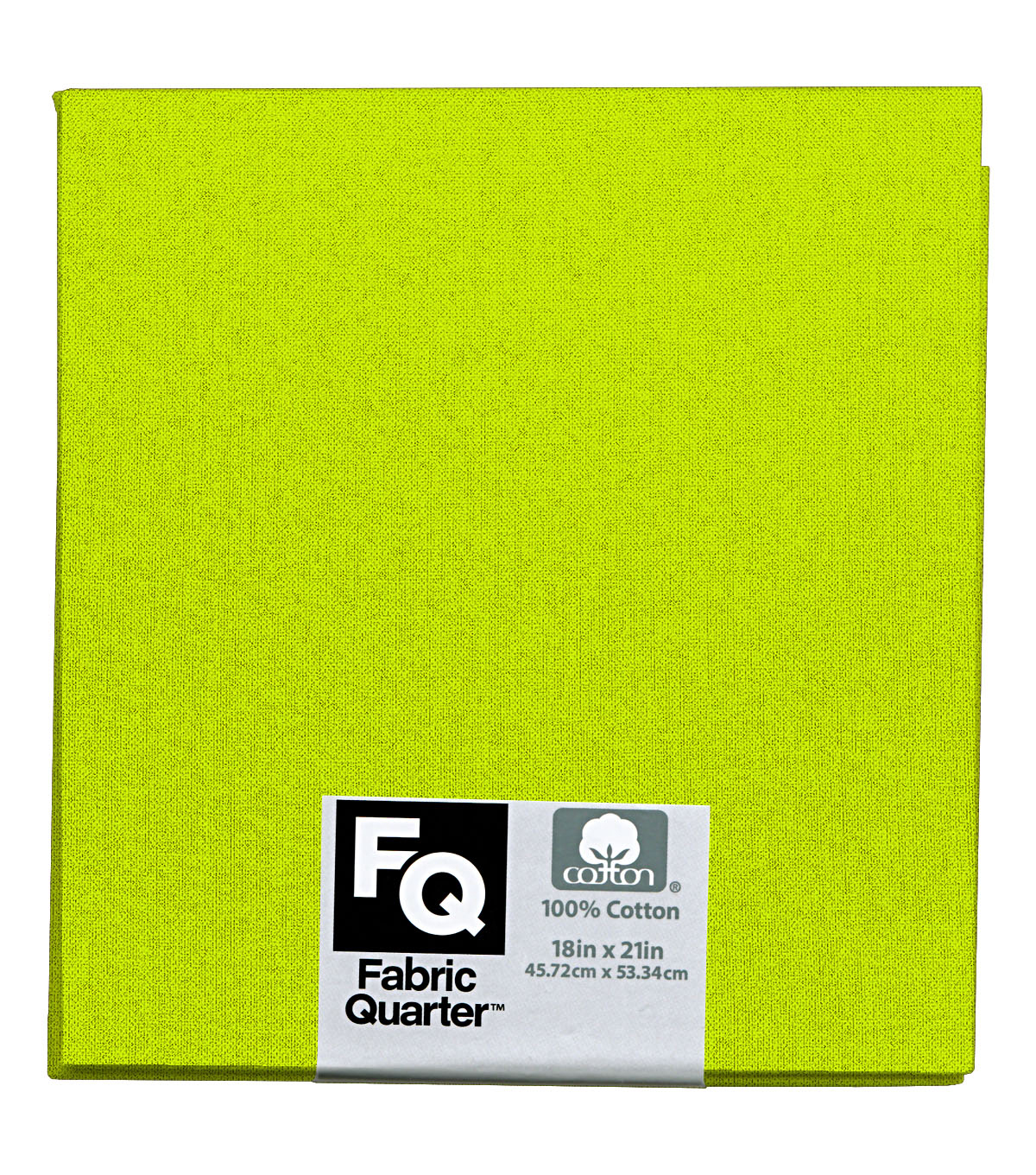 Fabric-Quarters Cotton Fabric-Solids Lime