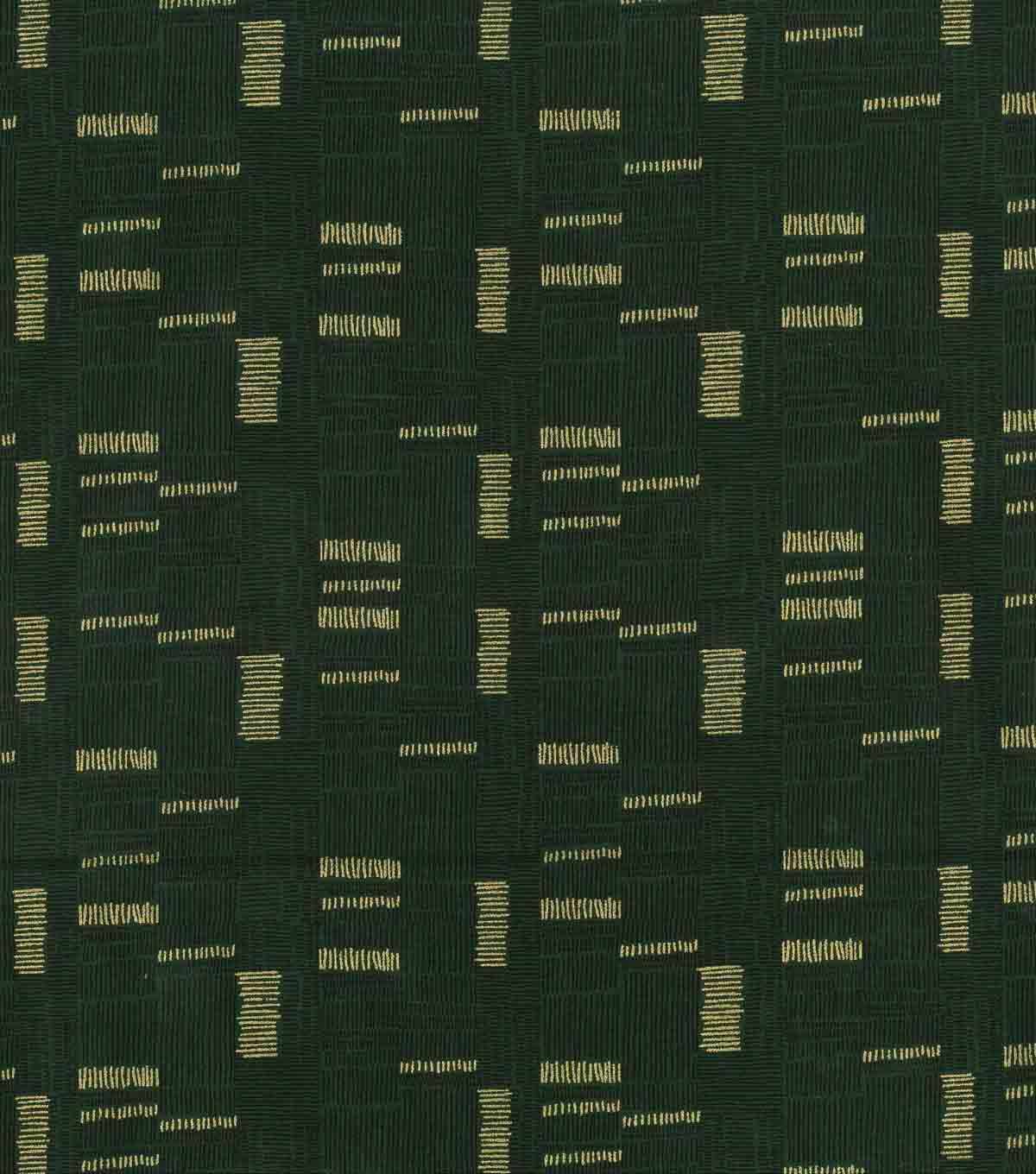 Keepsake Calico Cotton Fabric 43\u0027\u0027-Green & Metallic Mini Square Lines