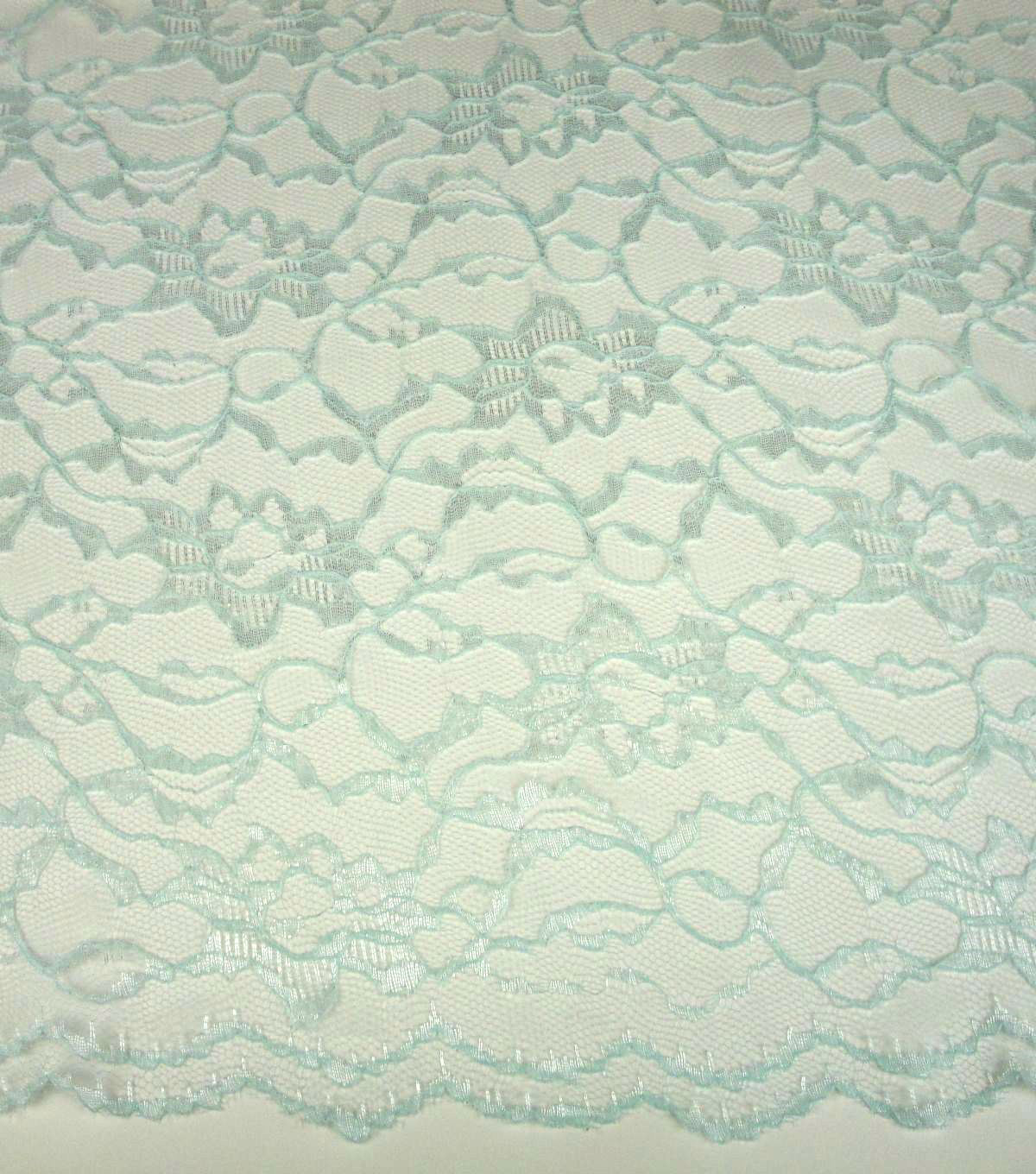 Casa Collection Lace Fabric 58\u0022-Whispering Blue
