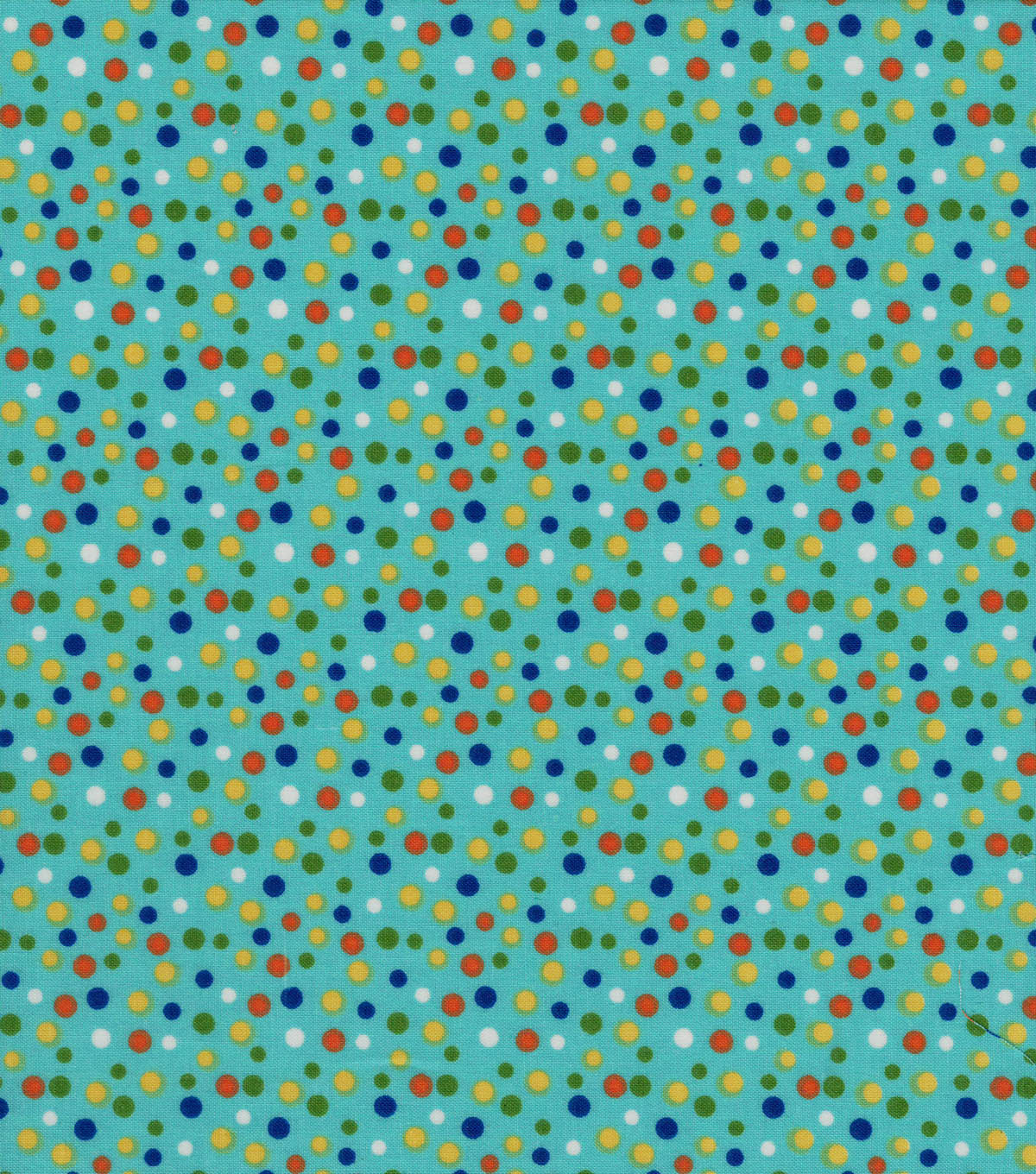 Quilter\u0027s Showcase Cotton Fabric -Multicolored Scattered Dots
