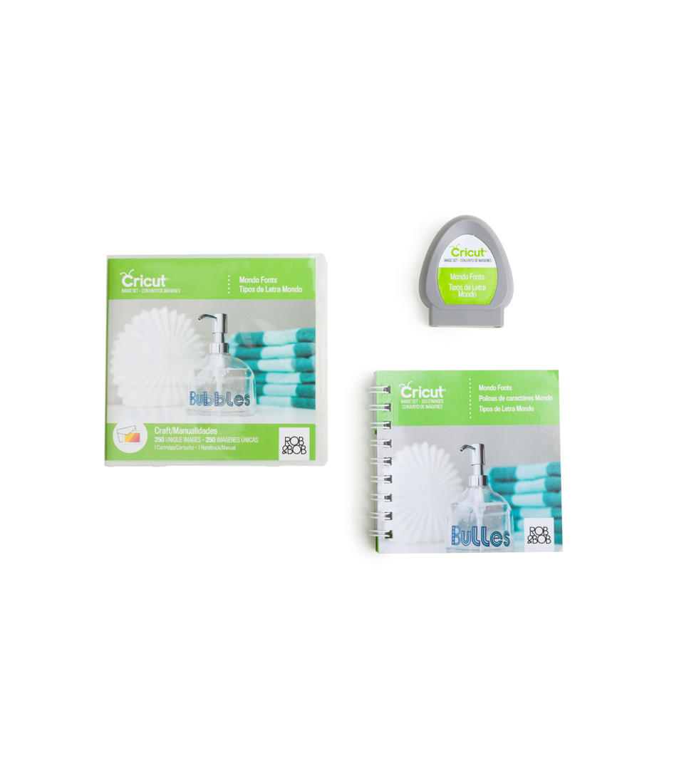 Cricut Cartridge Mondo Fonts