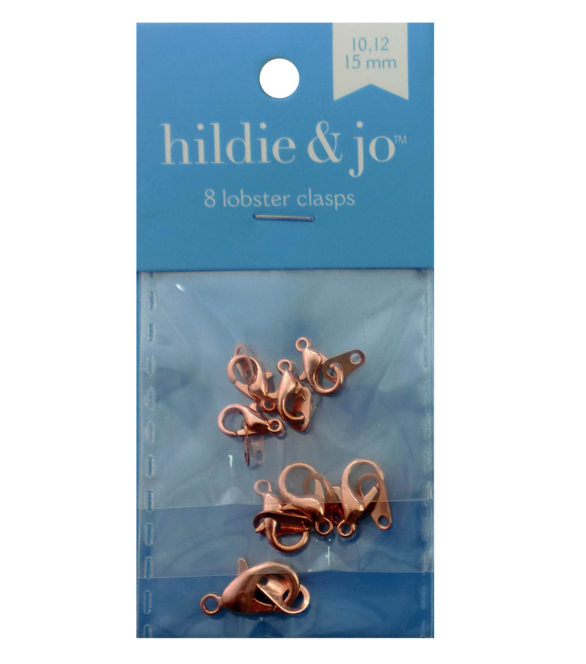 Blue Moon Findings Clasp Metal Multi Pack Lobster Rose Gold