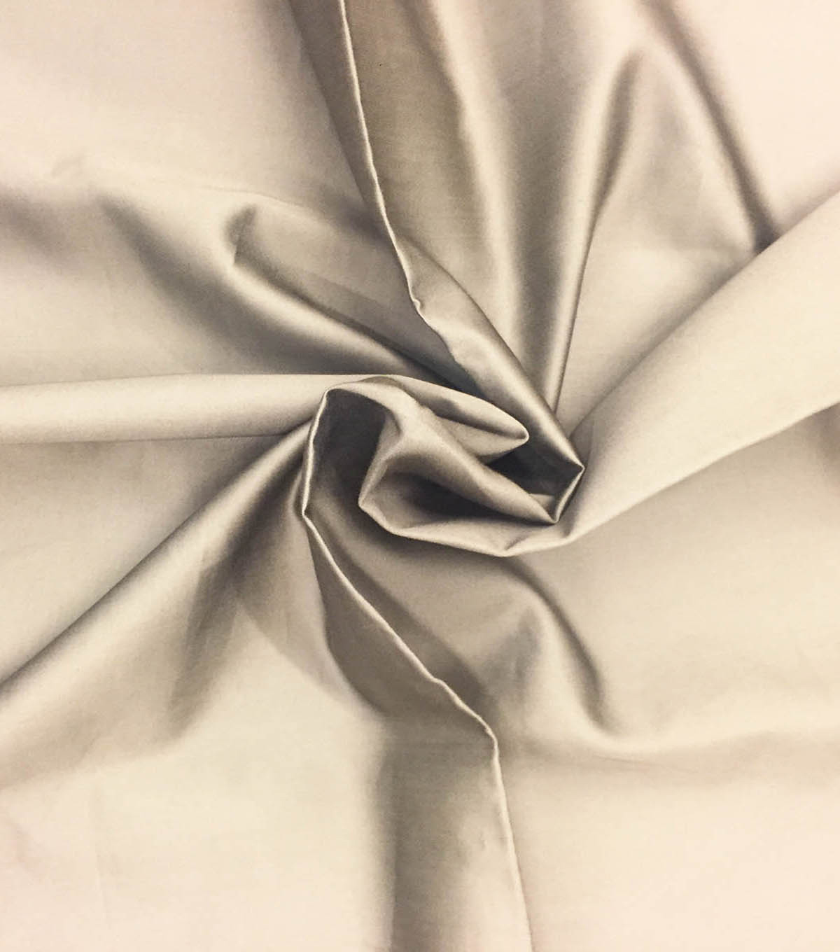 Supima Sateen Cotton Fabric-Solids, Gray