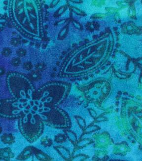 Anti Pill Fleece Fabric 59 Blue Green Fl Tie Dye Joann