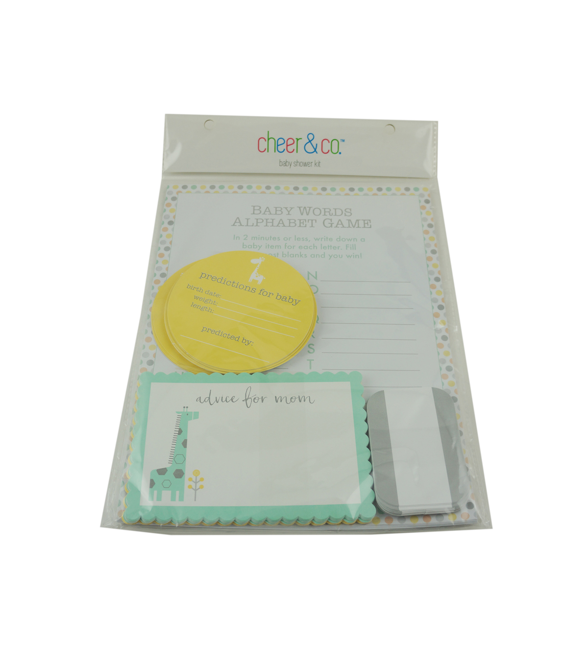 Cheer & Co Baby Shower Kit-Neutral