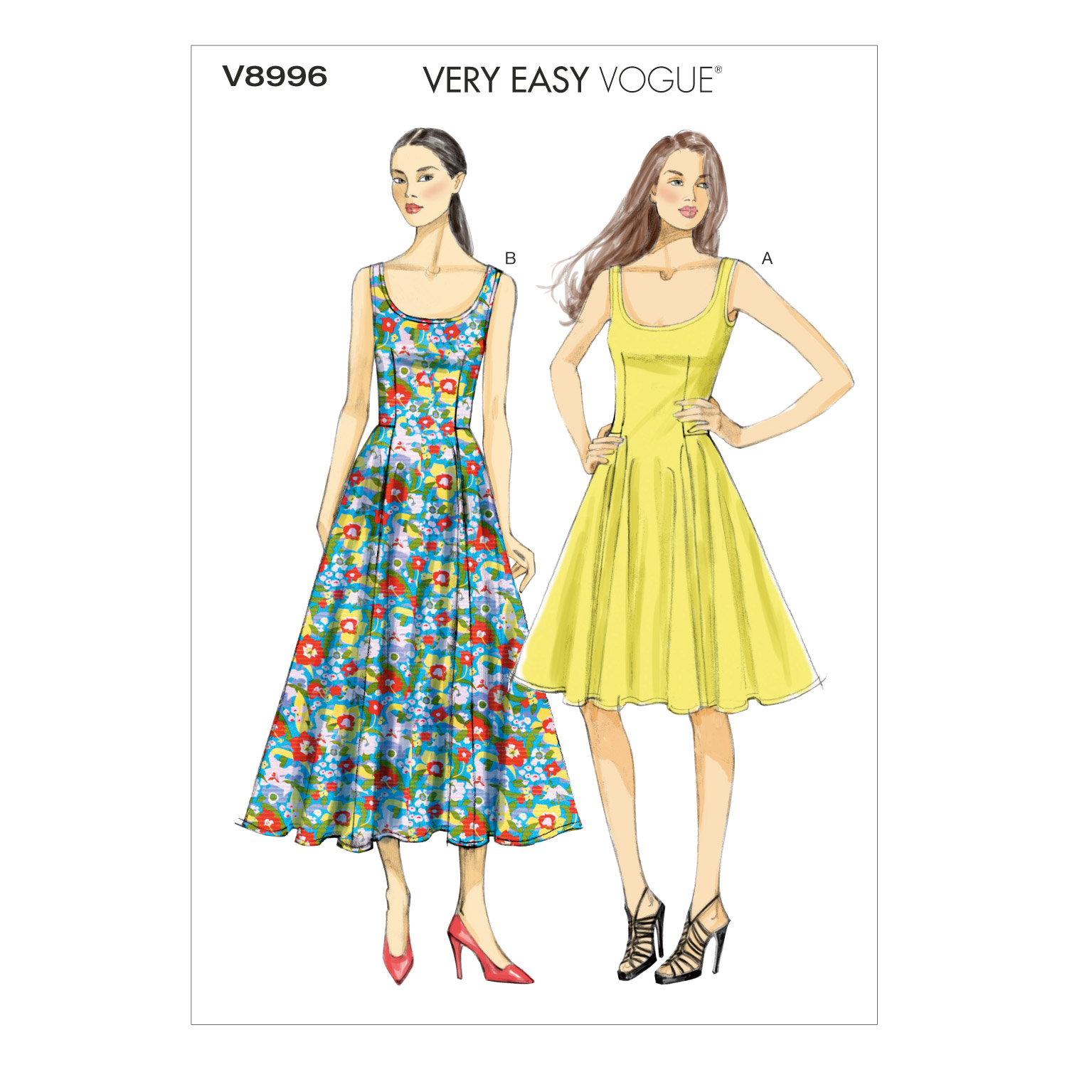 Vogue Patterns Misses Dress-V8996