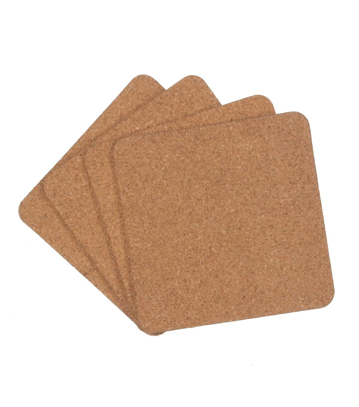 3.92In Cork Coaster Set