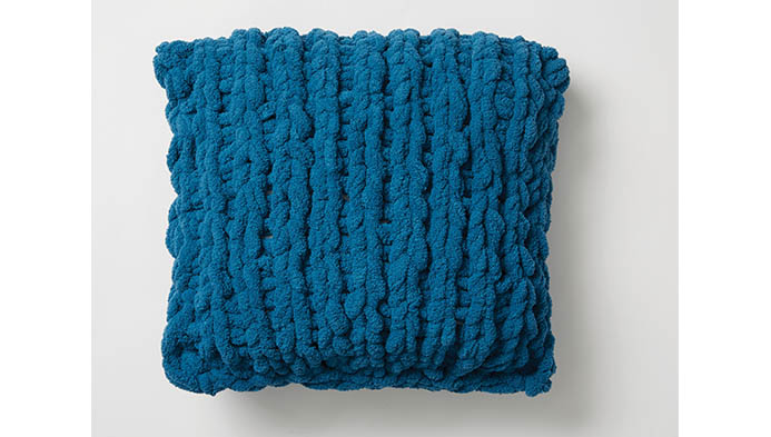 Easy Knit Pillow