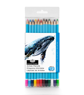 Watercolor Pencils 12/Pkg-Assorted