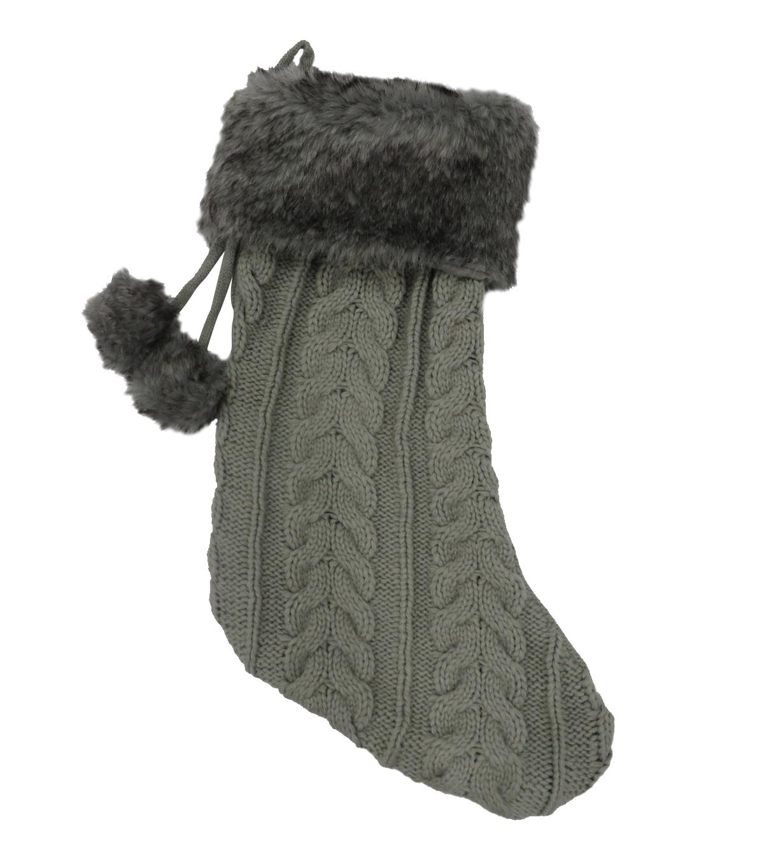 grey stocking