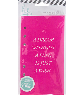 Heidi Swapp Memory Planner List Book-Fresh Start, To Do