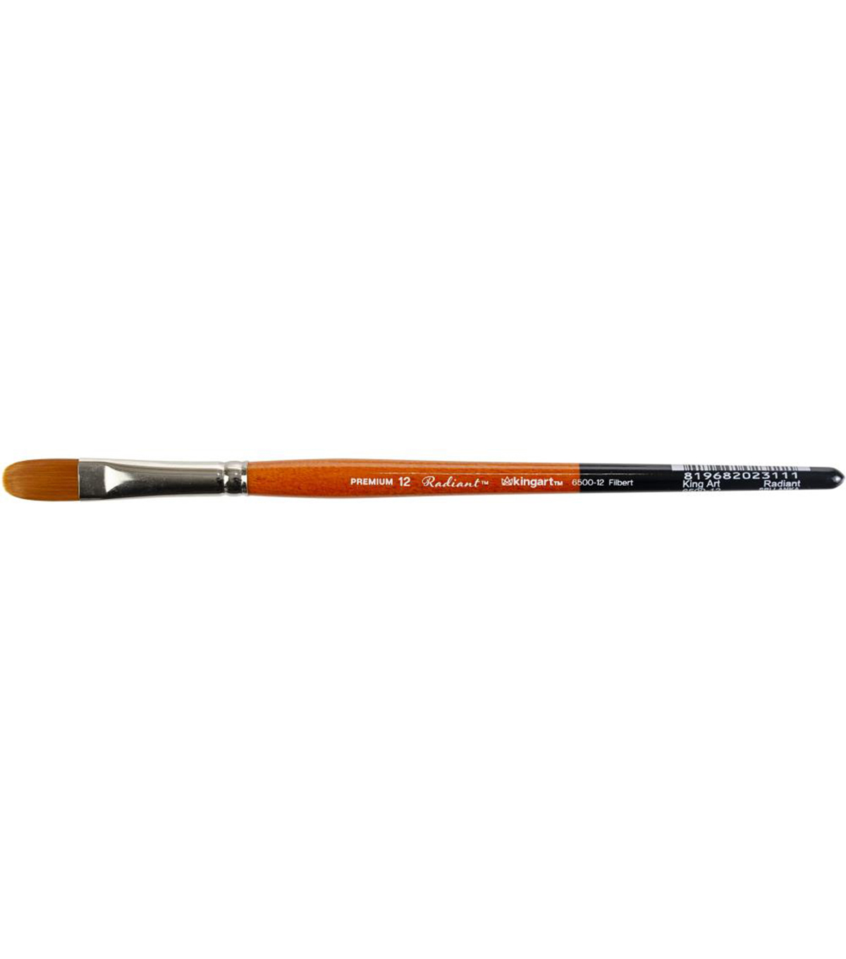 KINGART Radiant Paint Brush-Filbert