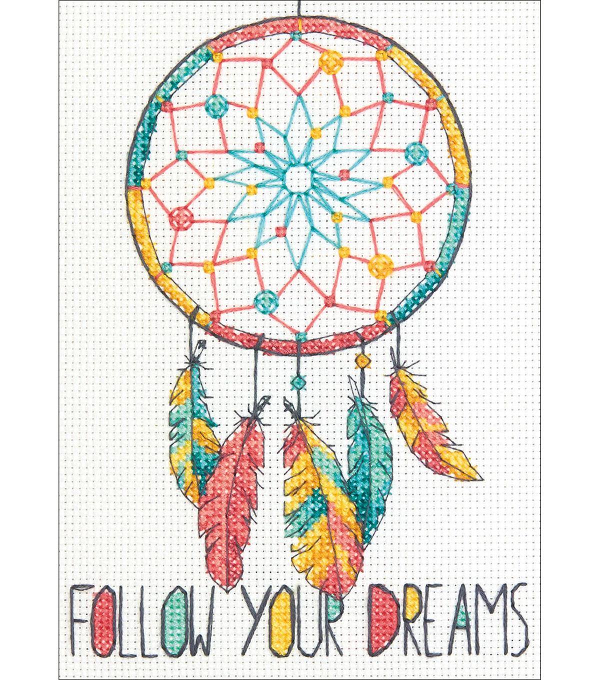 Dreamcatcher Mini Counted Cross Stitch Kit 14 Count