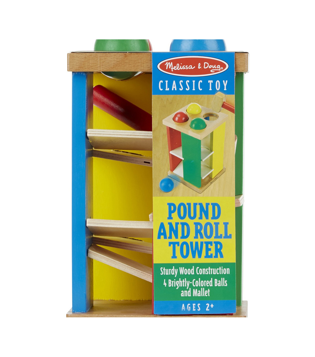Pound And Roll Tower-