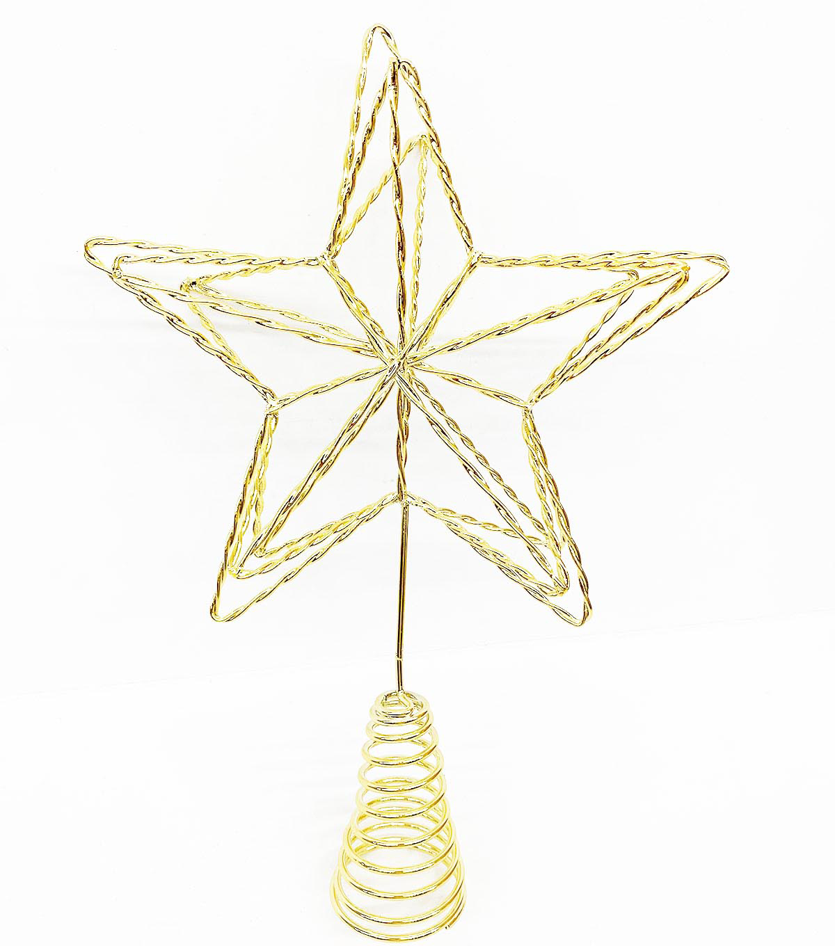 Handmade Holiday Christmas Mystical Midnight Metal Star Tree Topper