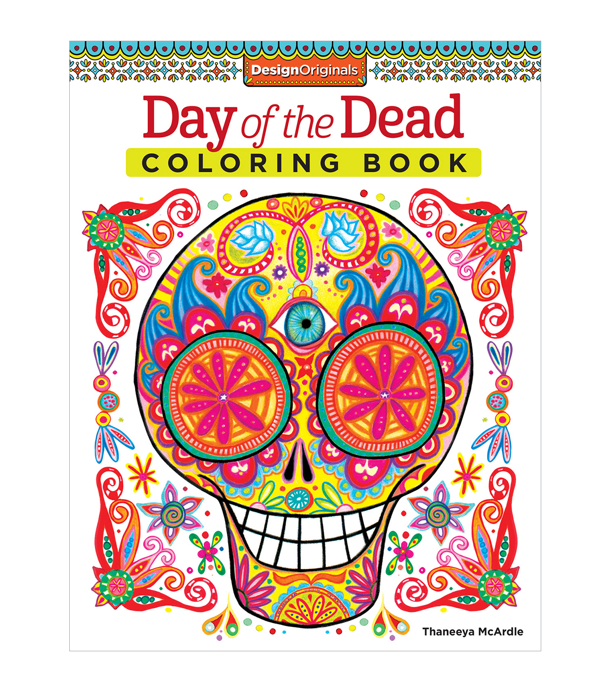 Day of the Dead Coloring Book - Design Originals | JOANN