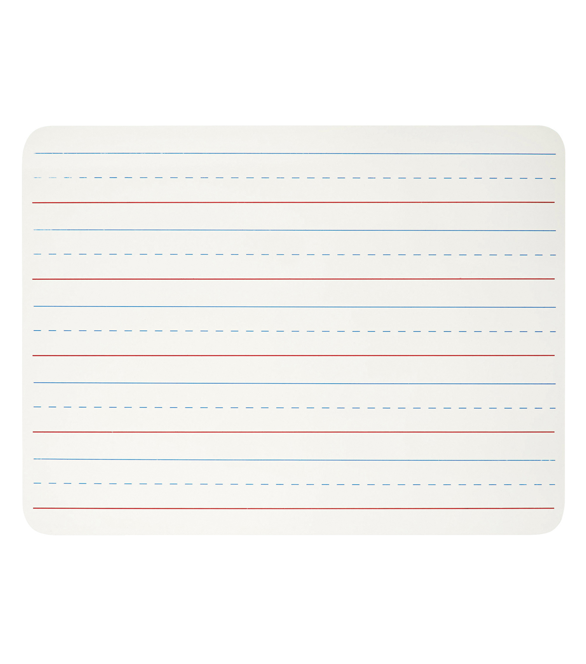 Charles Leonard Dry Erase Lap Board, 1-Sided Lined, 9\u0022 x 12\u0022, Pack of 12