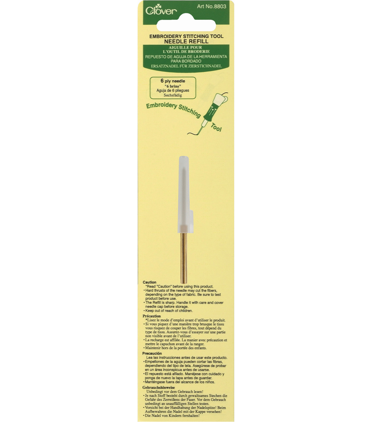 Embroidery Stitching Tool Needle Refill