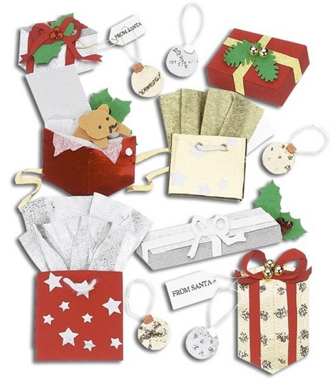 Jolee\u0027s Boutique Dimensional Stickers-Christmas Gifts