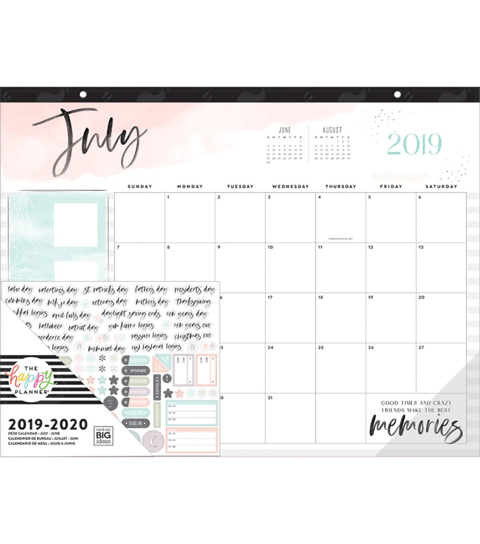 The Happy Planner Desk Calendar