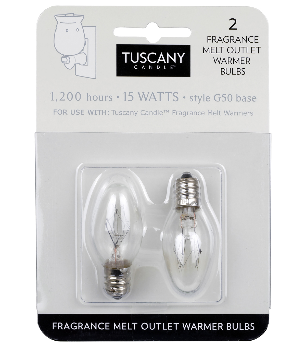Hudson 43 Candle & Light Collection Plug In Bulbs