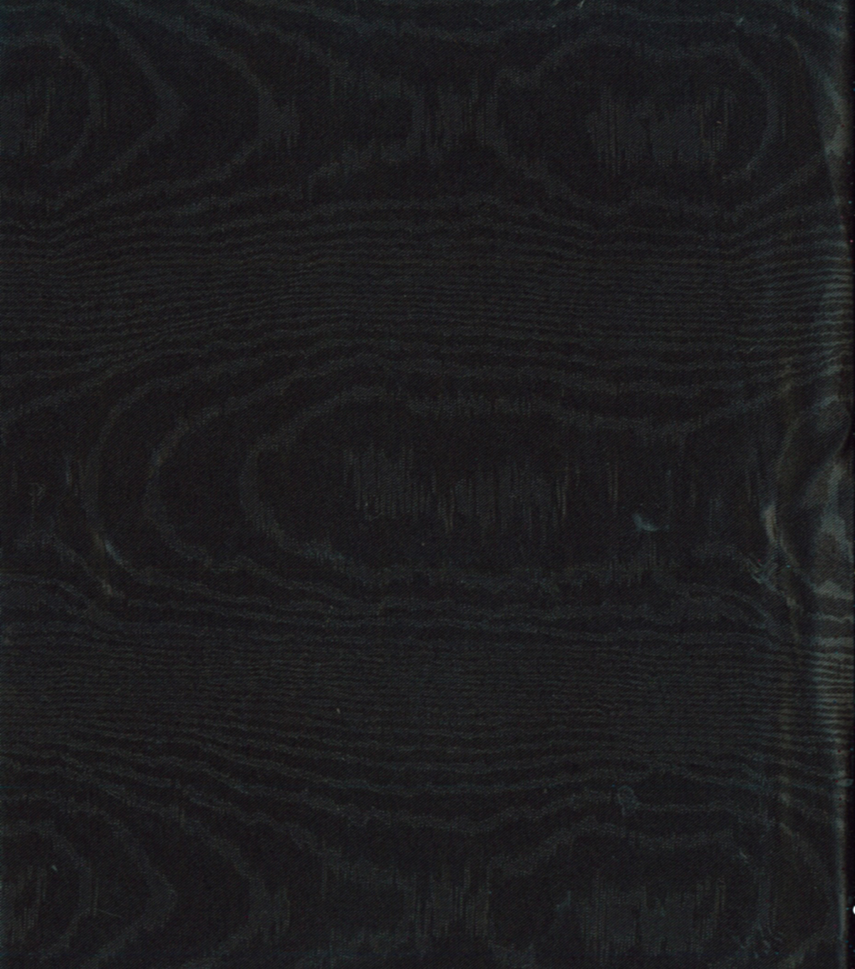 All That Glitters Fabric-Embossed Satin Moire Black