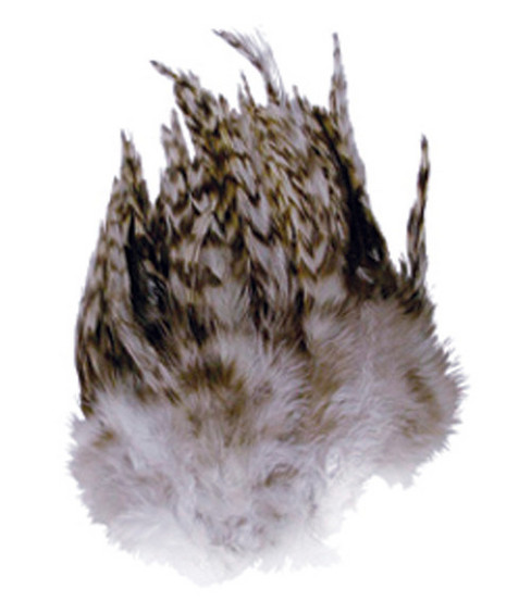 3 gr. Chinchilla Hackle Feathers