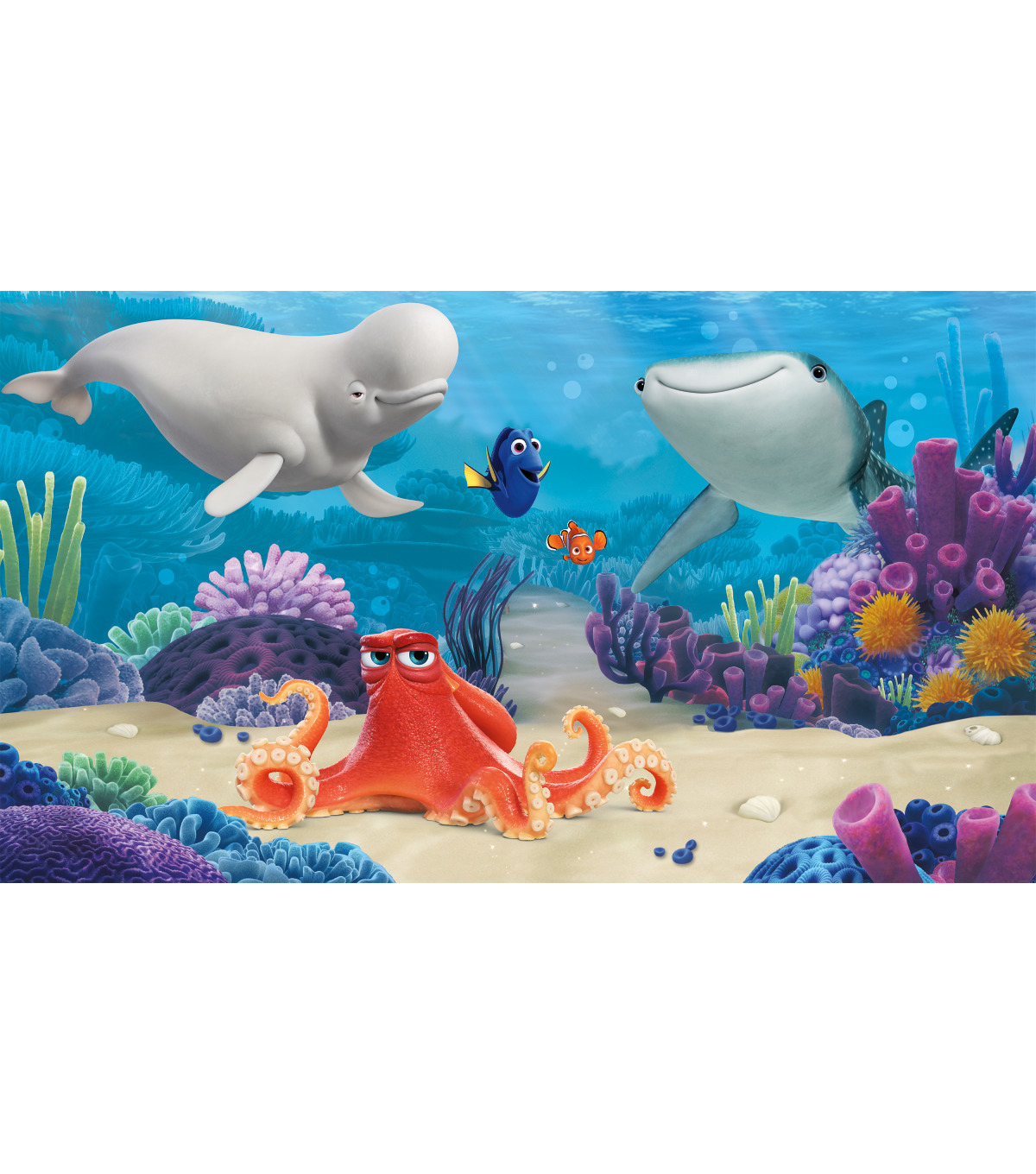York Wallcoverings Pre Pasted Mural-Finding Dory