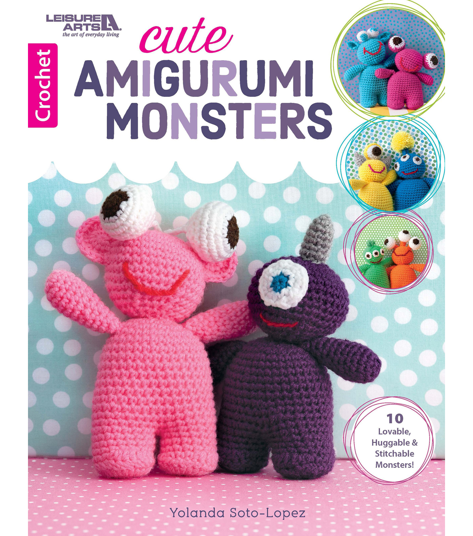 DIY Fluffies — Grunk the hairy monster Amigurumi crochet pattern... | 1360x1200