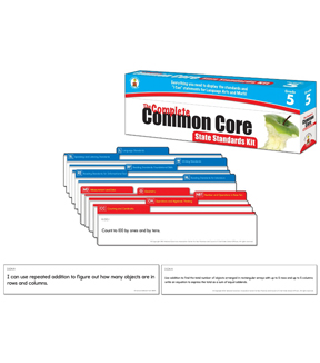 Complete Common Core State Standards Kit- Grade 5