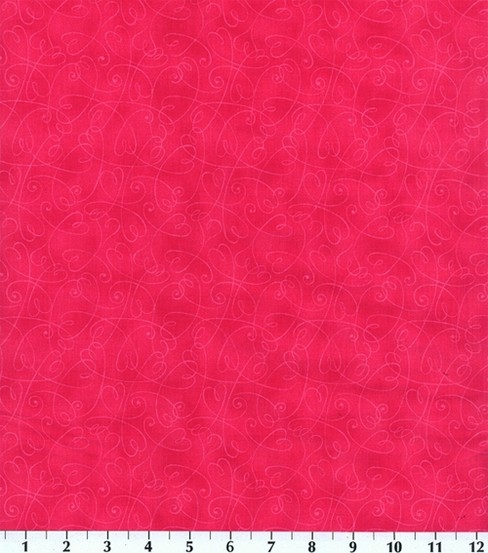 Keepsake Calico Cotton Fabric -Pink Essentials Swirl
