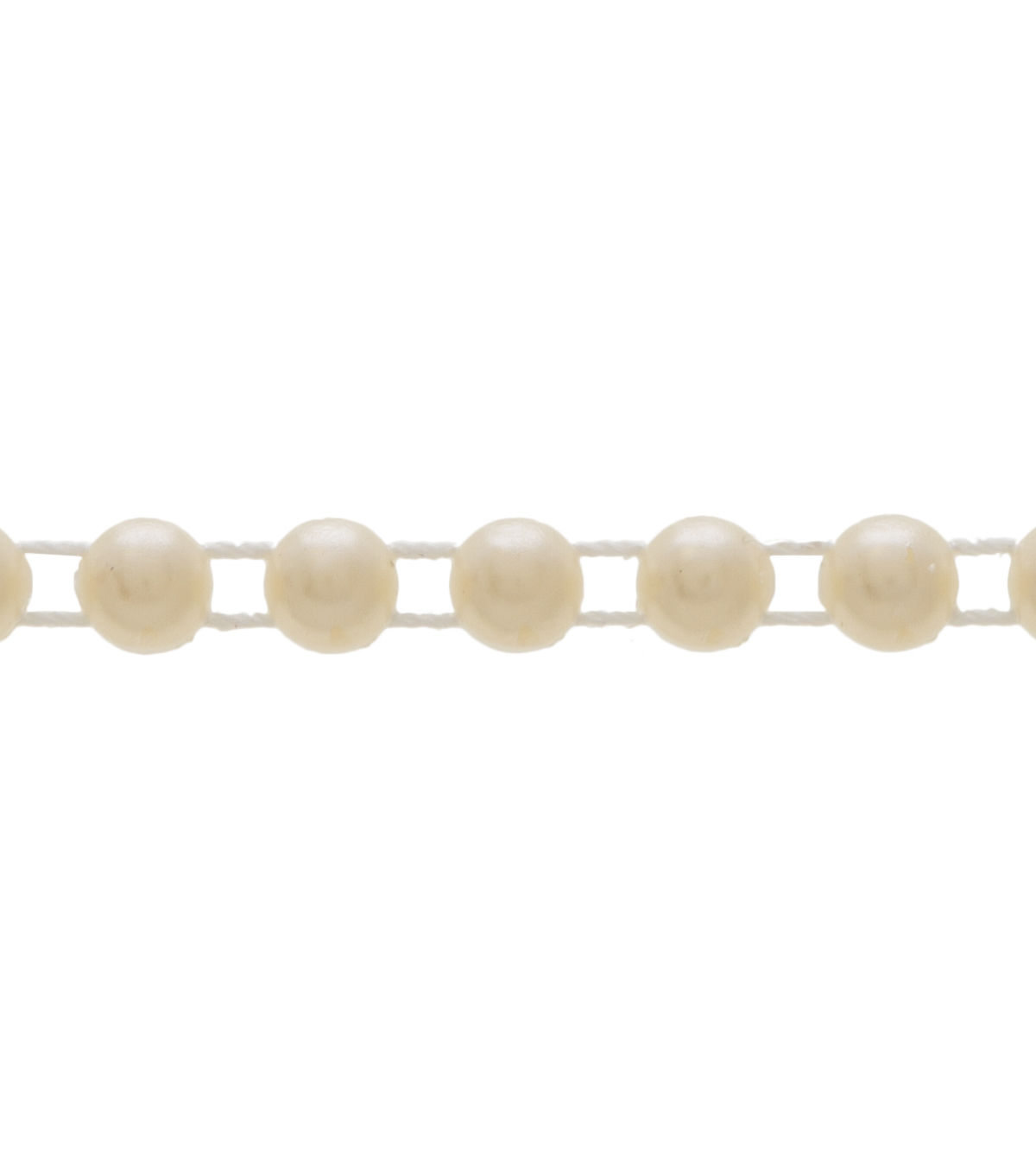 6mm Half Pearl Ivory Apparel Trim