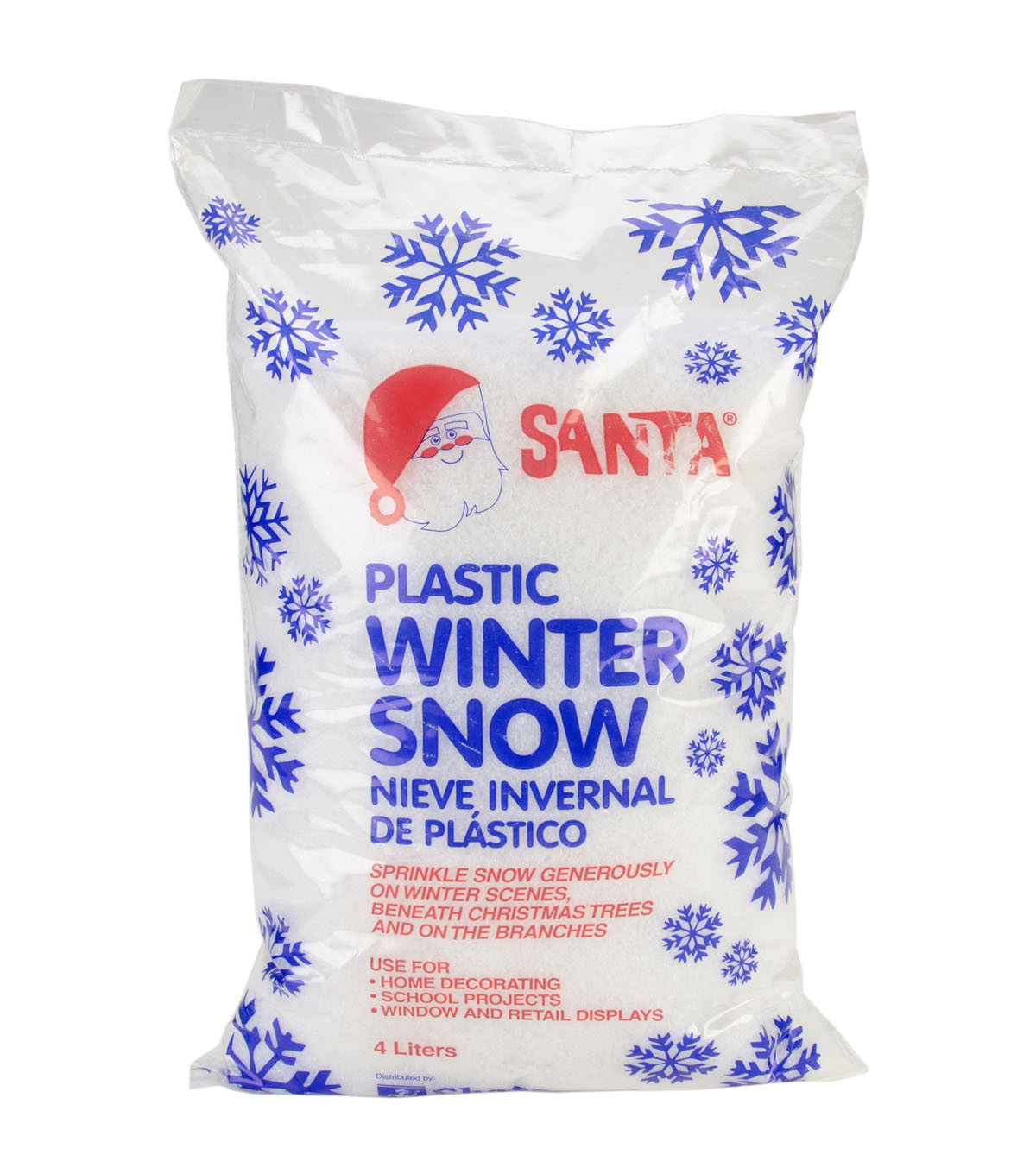 Chase Products Co. Christmas Santa 6 oz. Plastic Winter Snow