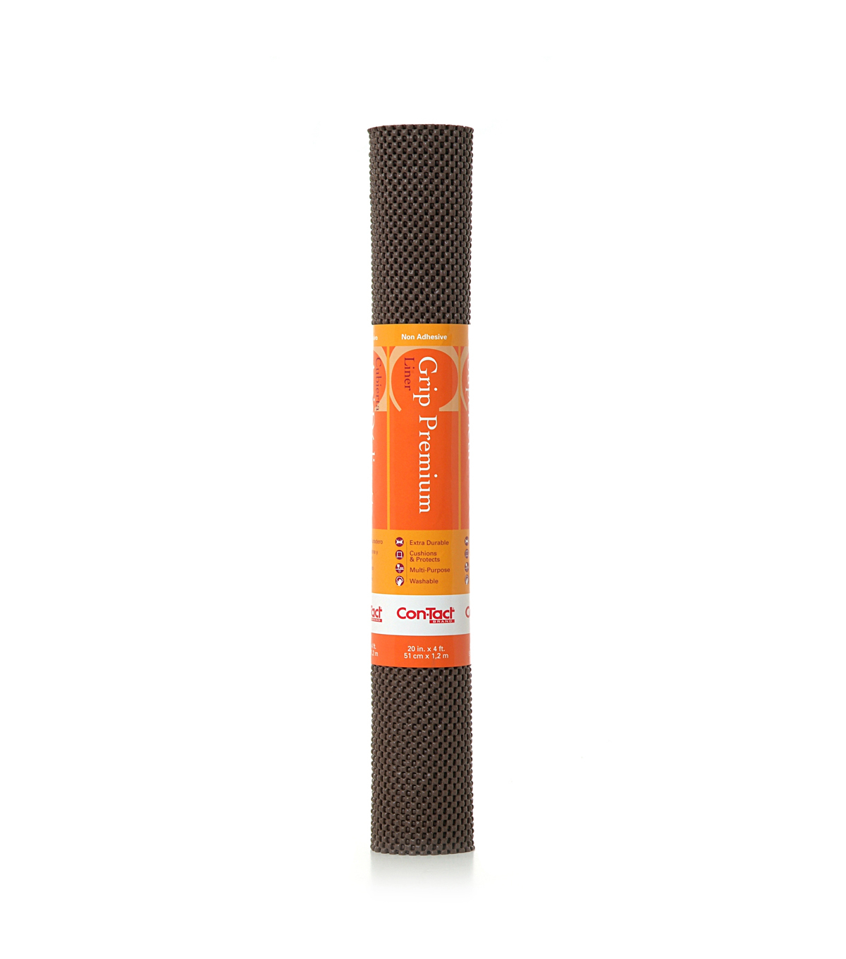 20in x 4ft Contact Grip Liner Premium-Chocolate