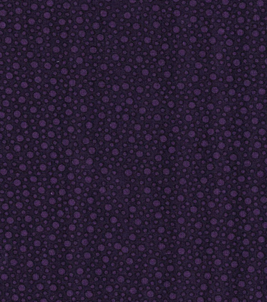 Keepsake Calico Cotton Fabric -Purple Tossed Dots