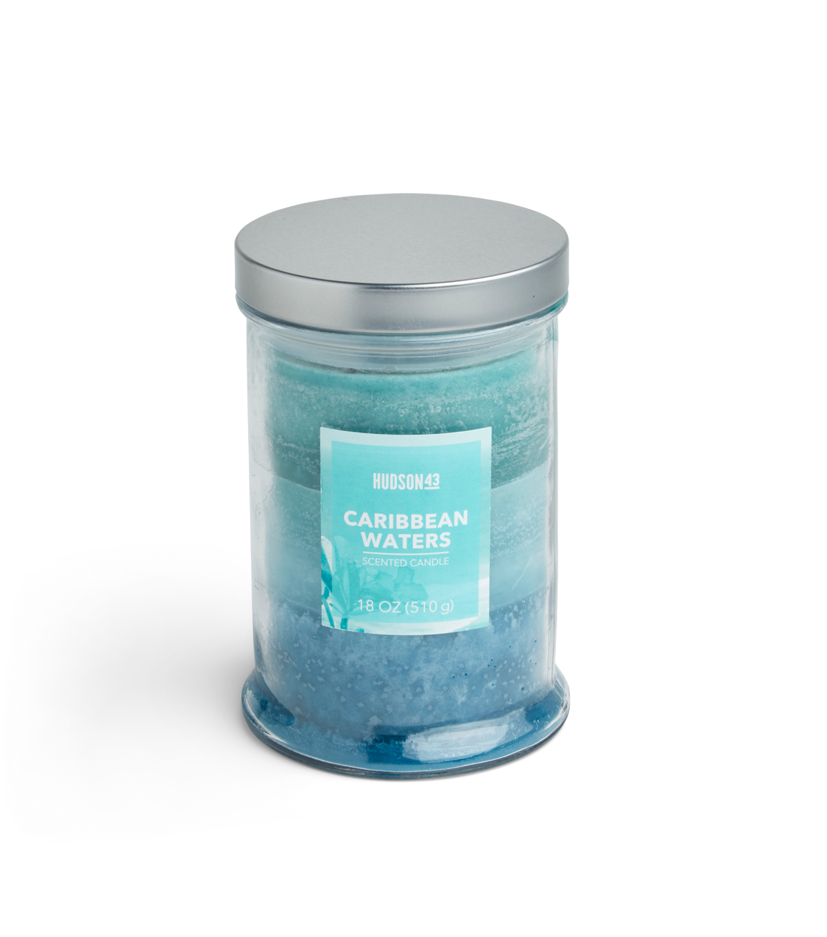 Hudson 43 Candle & Light 18 oz. Caribbean Waters Jar Candle