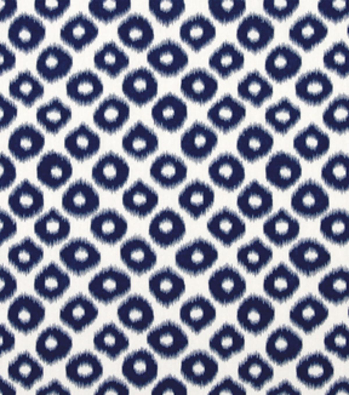 Home Essentials Lightweight Decor Fabric 45\u0022 Robert Allen Chic Ikat  Cobalt
