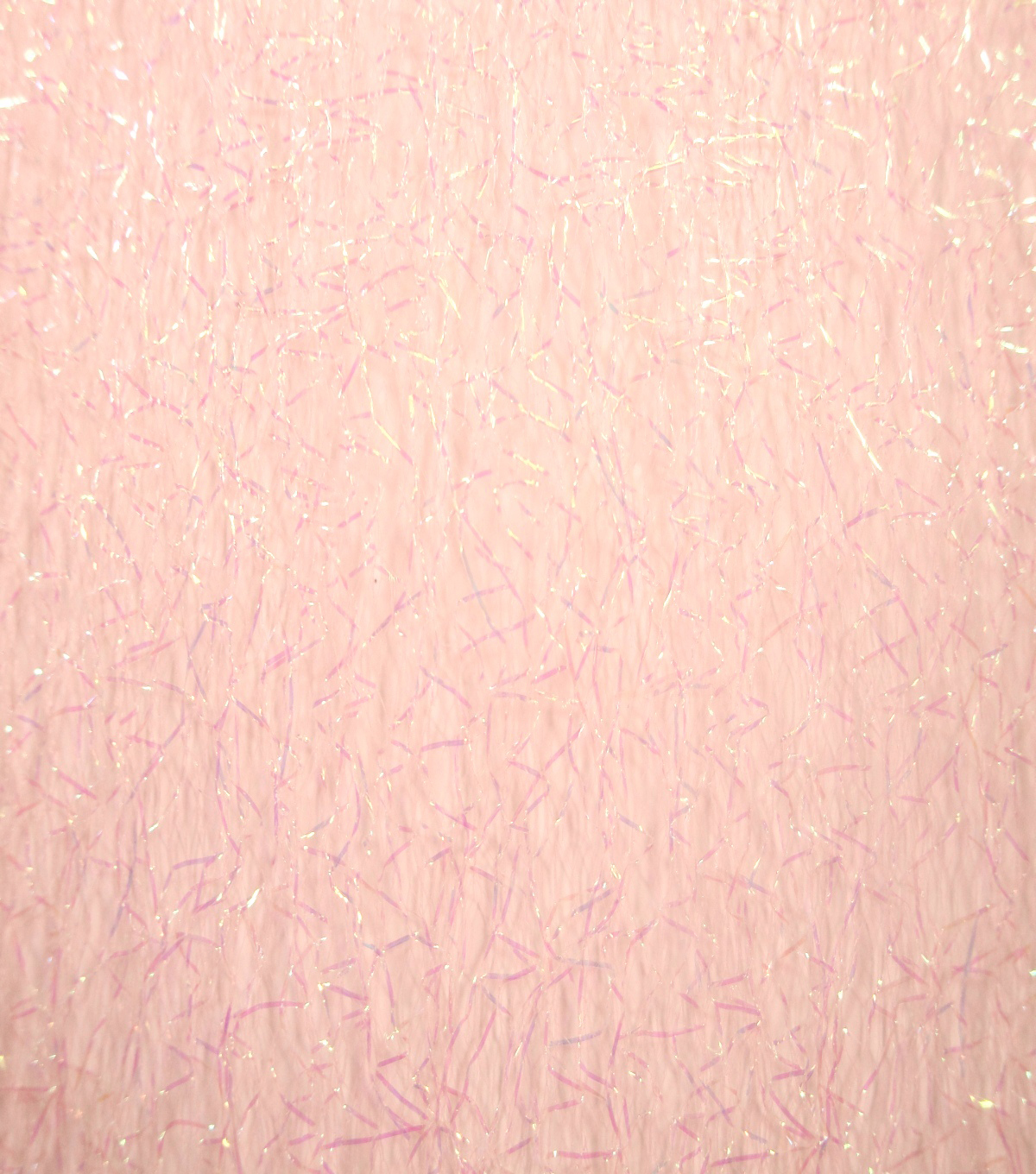 Netting Sparkle Mesh Fabric -Parfait Pink Iridescent