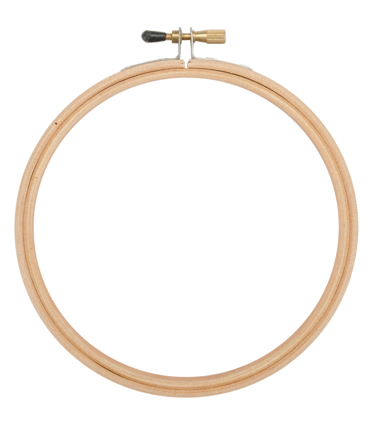 5\u0022 Wood Embroidery Hoop With Round Edges-