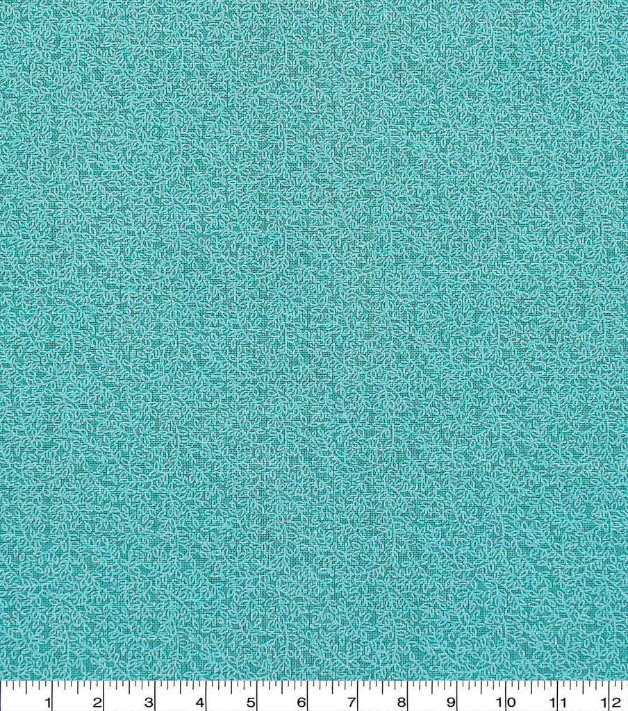 Keepsake Calico Cotton Fabric 43\u0022-Aqua Vine