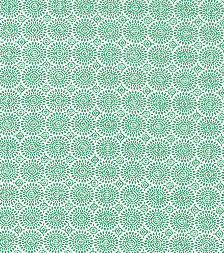 Keepsake Calico Cotton Fabric-Green Medallions